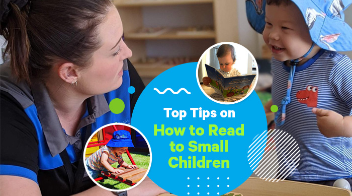 Top Tips on How to Read to Small Children
