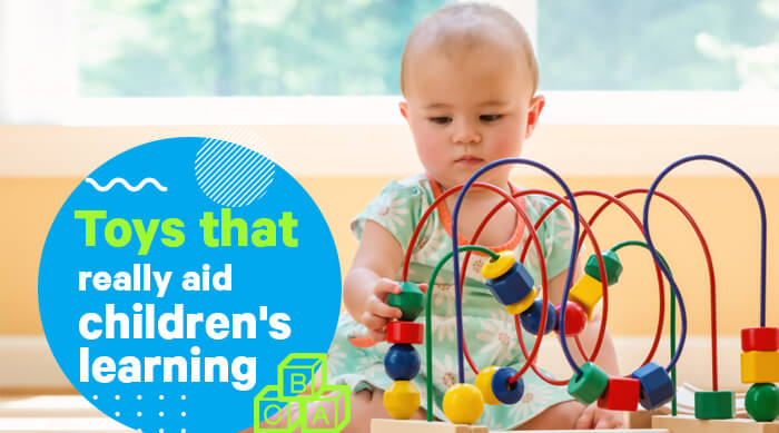 Toys that really aid children's learning
