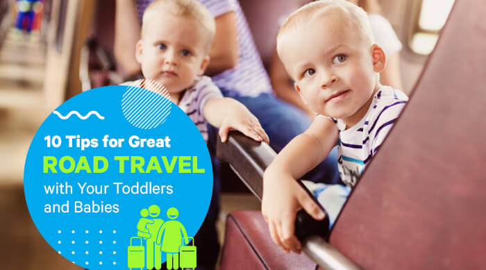 Travel with Your Toddlers and Babies
