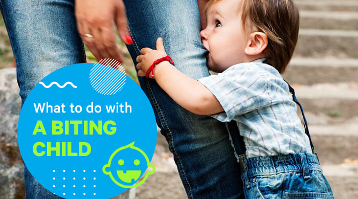 What to do with a biting child