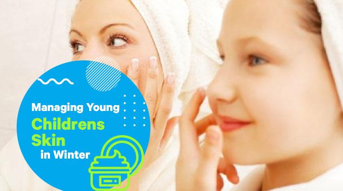 Managing Young Children's Skin in Winter