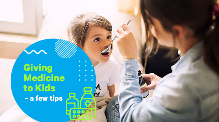 Giving Medicine to Kids